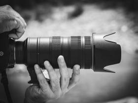 Analoge Fotografie und Entwicklung von Fotos